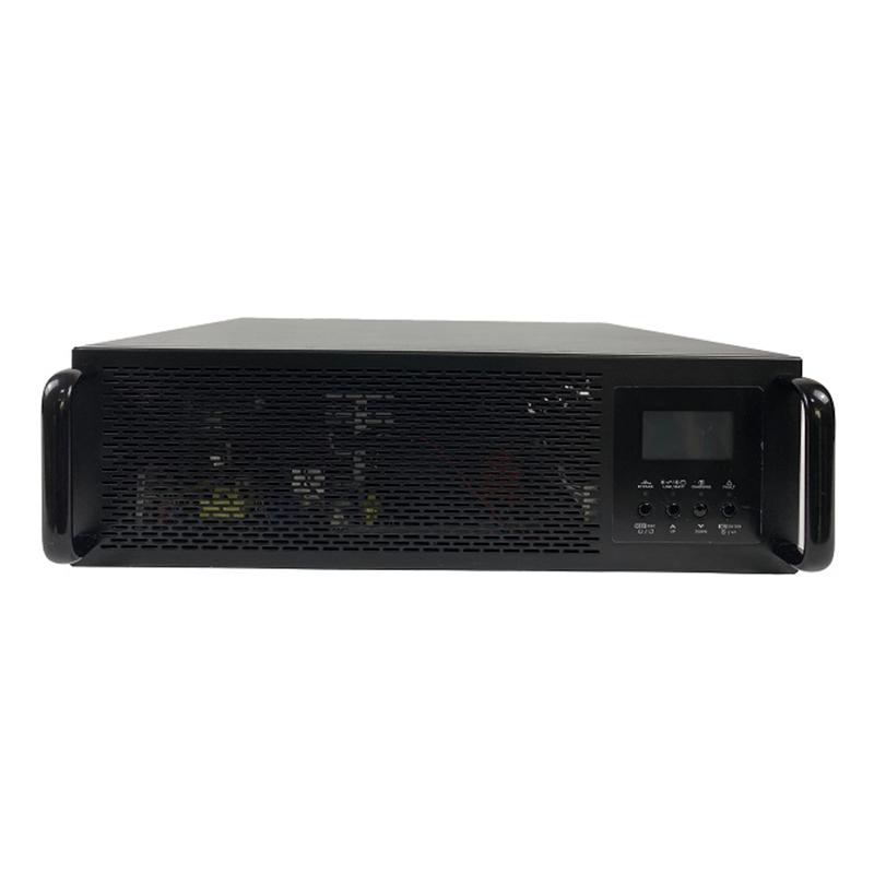 Rack Mount 24v Bwitt 48vdc 220vac 3kva Online Ups Uninterrupted Power Supply